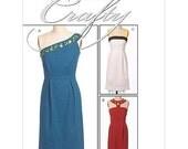 McCall's Pattern M5658 Misses' Asymmetrical Dress Sizes 12-18 NEW