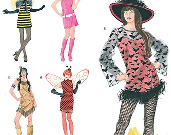 Simplicity Pattern 0802/2324 Misses' Easy to Sew Costumes Sizes XS-XL : 6-24 NEW