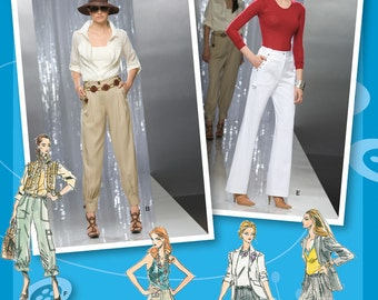 Simplicity Pattern 2477 Misses' Project Runway Pants Sizes 12-20 NEW