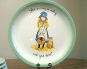 Vintage Holly Hobbie Collector's Plate