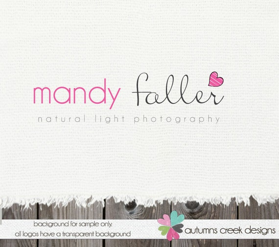Photography Logo Premade logo Designs Photography Logos and Watermarks Real Estate Logo Heart Logo Blog Logo Photography Logos Premade Logos