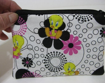 Tweety Bird From looney  Tunes Women Zipper Change Purse