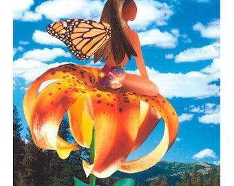 Monarch Fairy Greeting Card