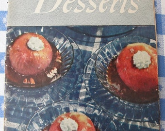 Delectable Desserts - vintage cookbook from 1940