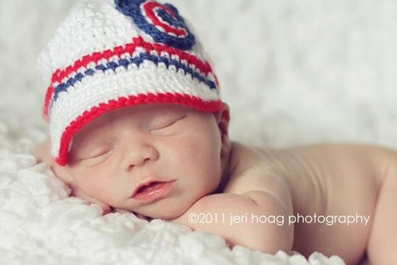 Items Similar To Chicago Cubs Inspired Crocheted Baseball
