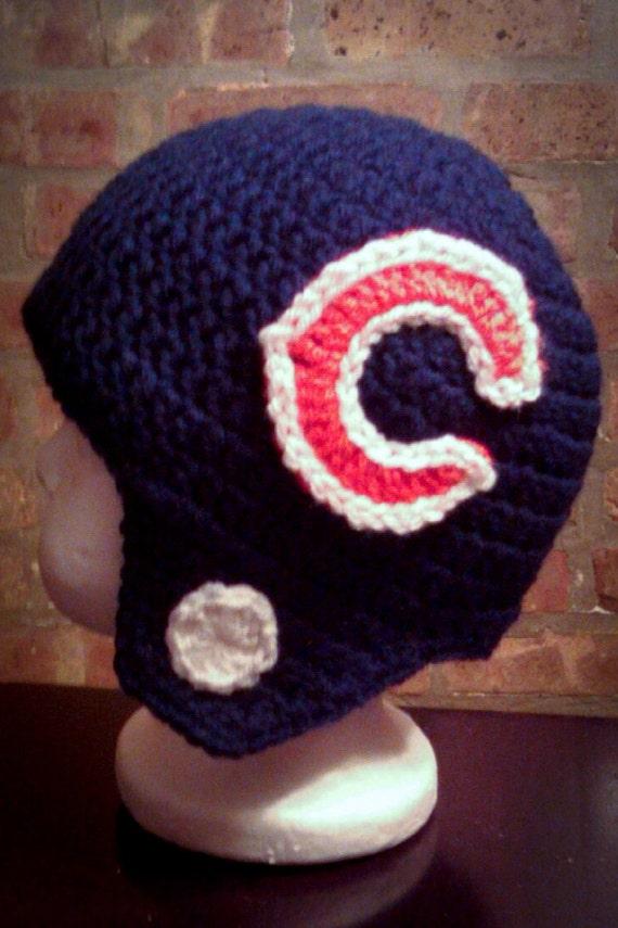Chicago Bears Inspired Helmet (Newborn - Toddler Sized) (Made to Order)