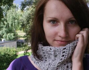 Crochet Pattern PDF - Textured Cowl - Lauren Caught My Eye - Crochet Infinity Cowl Pattern instant download