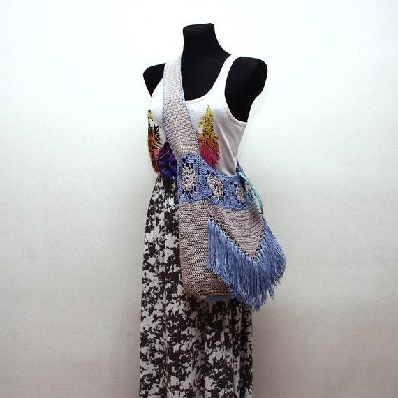 Crochet Pattern PDF - Boho Tote - Crochet Tote Bag Pattern instant download