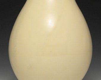 Pale Yellow Vase