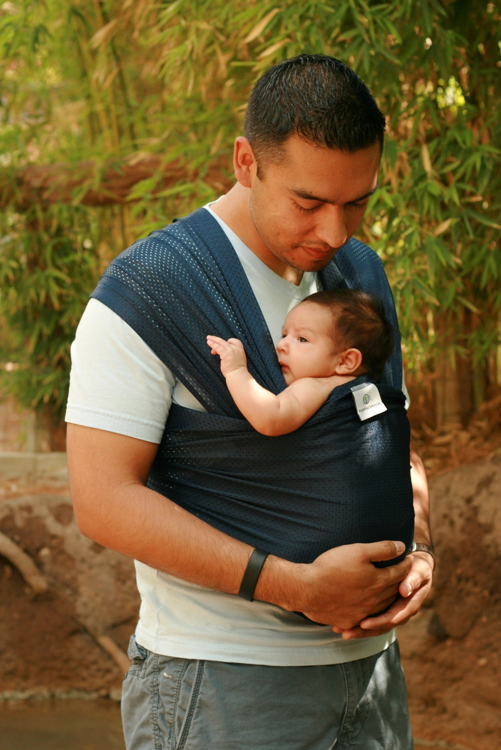 Usa Made Beachfront Baby Wrap Carrier Safe Water Babywearing