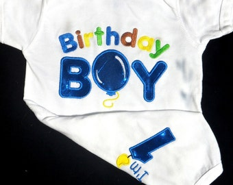First Birthday Boy Outfit Baby Boy Clothes Cake Smash Cake Outfit Baby Boys 1st Birthday (look at the back)