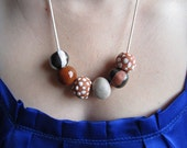 Earthen: Ceramic Bead Necklace