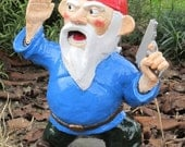 Combat Garden Gnome Officer with Pistol