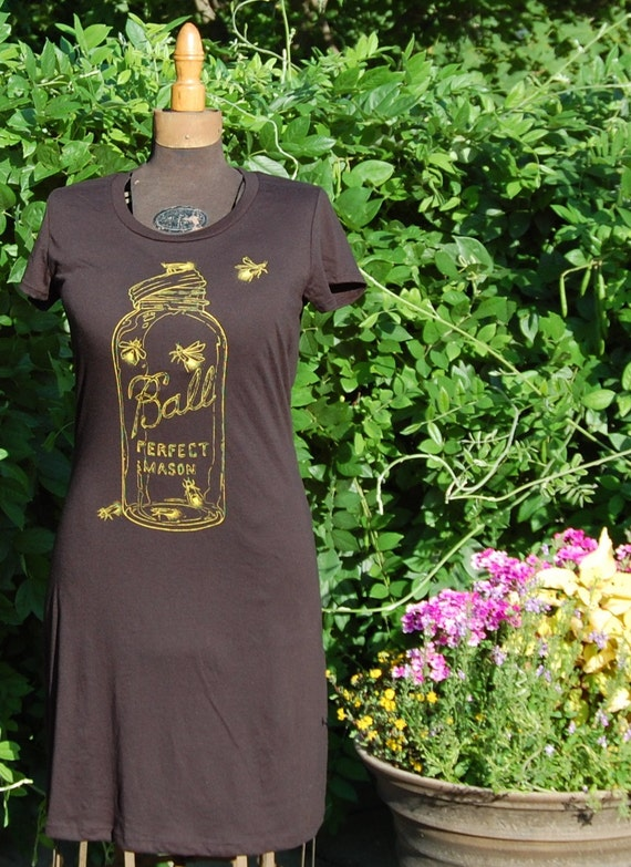 Firefly / Black / Dress/ Medium
