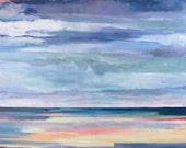 "Fine Art PRINT - ""Big Sky"" Abstract Seascape"