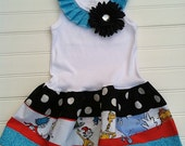Circus Party Dress Available 0-3 months through Size 6/8