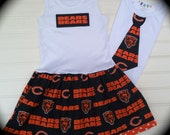 Brother Sister Set  Chicago Bears Available 03-months through 6/8
