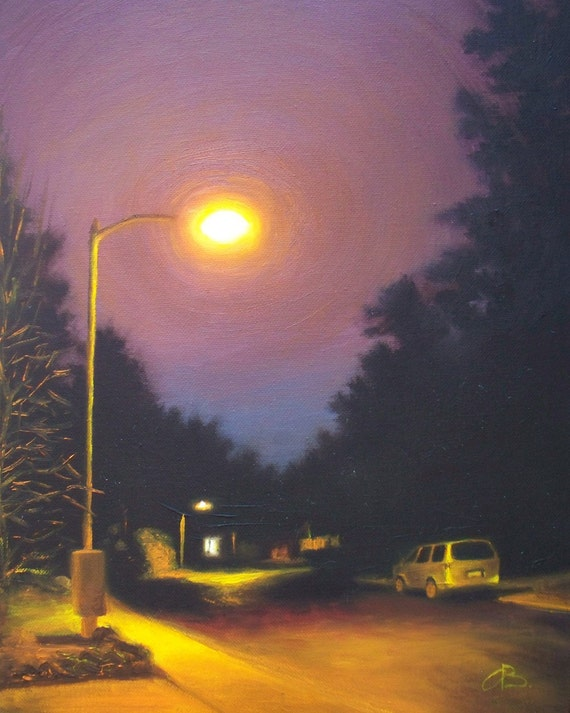 the street light