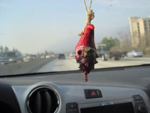 Zombie Gnomes: Car Ornament