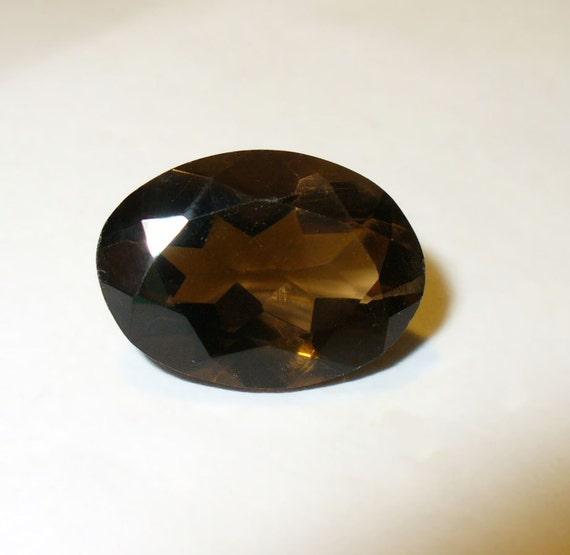 Smokey Brown Quartz  - Natural 10x14 mm Gemstone