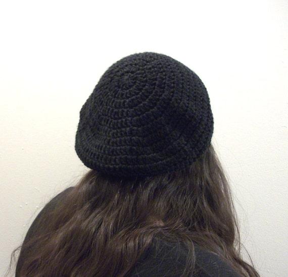 PDF Crochet Pattern Slouch Hat Tam Beret Crochet Beret Pattern