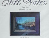 CLEARANCE Beautiful Threads Needlework STILL WATER Psalms 23 Picture - Counted Cross Stitch Pattern Chart