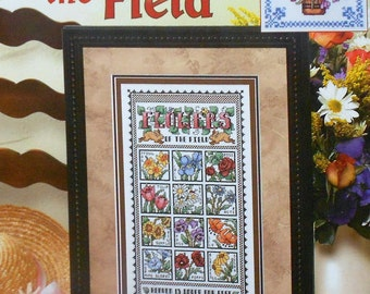 Deborah Lambein | FLOWERS of the FIELD | Leisure Arts | Counted Cross Stitch Pattern | Chart Booklet