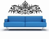 Horizontal, Ornate Art, Decorative Design, Wall Decal, Renaissance, Home Decor, Bedroom Wall Art, Ornamental, Baroque, European, Fancy Art