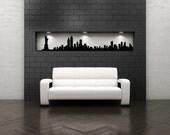 New York Skyline Decal, New York City Art, New York City Wall Decor, NYC Skyline, NYC Art, Office Decor, Big Apple, Home Decor, Vinyl Decal