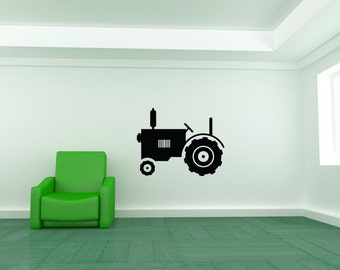 Tractor Decor, Tractor Decal, Farming Decor, Childrens Decor, Childrens Wall Art, Nursery Decor, Wall Decal, Home Decor, Kids Decor