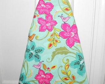 Ironing Board Cover - Tropical Birds and Flowers - Laundry and Housewares