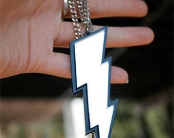 Custom Lightning Bolt Necklace