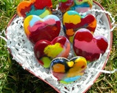 Recycled Heart Crayons Dozen