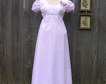 Vintage 70's SUCH SWEET LACE Maxi Party Dress