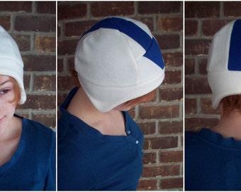 Aang or Tenzin Airbender Hat - Fleece Hat Adult, Teen, Kid - A winter, nerdy, geekery gift!
