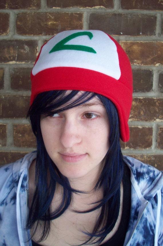 Ash Pokemon Hat  - Adult, Teen, Kid - A winter, Christmas, nerdy, geekery gift!