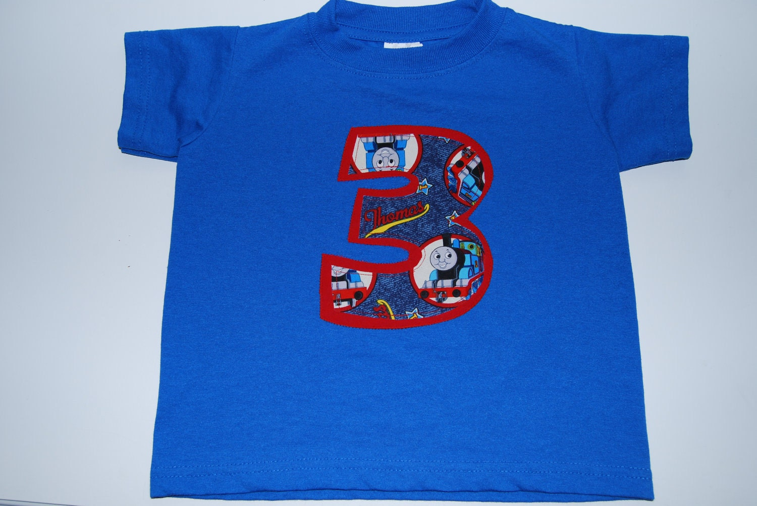 Thomas The Train Birthday Number T Shirt