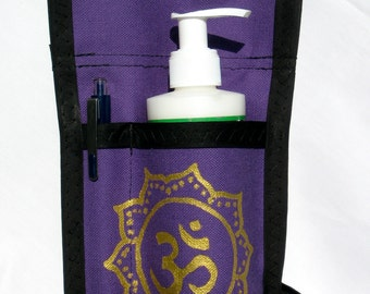 Made to Order - 1.5 Pocket Massage Oil Holster with Belt, Any Color,  Any Design