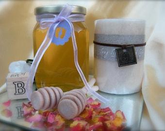 Baby Shower Gift, Raw Natural Honey, Christmas Gift