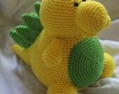 Stan the Stegosaurus - Amigurumi Plush Crochet PATTERN ONLY (PDF)