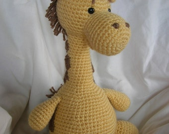 Girard the Giraffe - Amigurumi Crochet PATTERN ONLY (PDF)