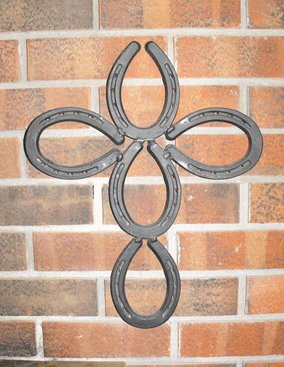 Horseshoe Cross Sign