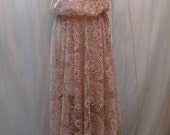Limited Edition One Of A Kind Bohemian Dress