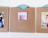 DVD Cases / Sleeves - Set of 3 brown DVD sleeves - Each sleeve is a different design