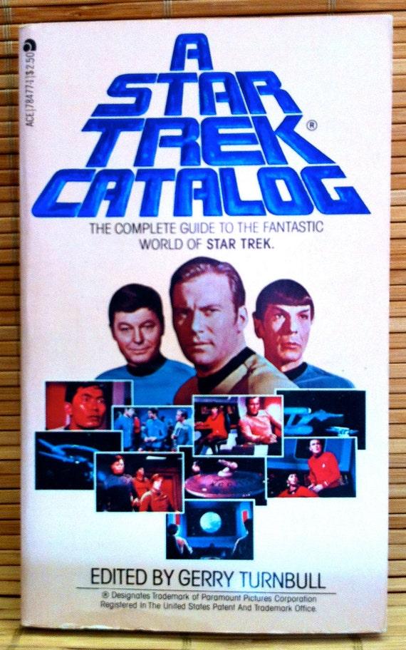 Star Trek - Paperback Novel - A Star Trek Catalog - 1979