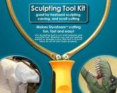 Styrofoam/Polystyrene Electric Hot Wire Foam Cutter Kit - Sculpting Tool