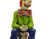Stoner Stanley the Clown he's creepy a bit sleepy and has a nasty case of the munchies