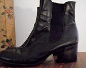 STEPHANE KELIAN  Leather Ankle Boot