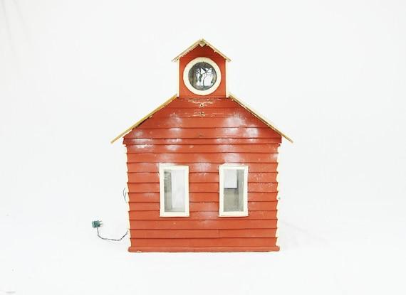 Vintage Farm Doll House - Lit - Over 2 Feet Tall