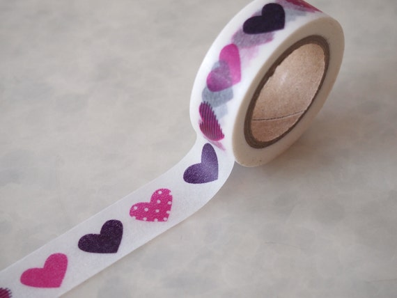 Big Heart Washi Tape (10M)